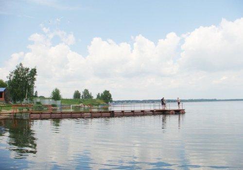рыбалка на озере саргазы
