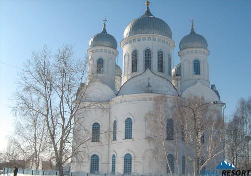 Храм Вознесения Господня г. Касли